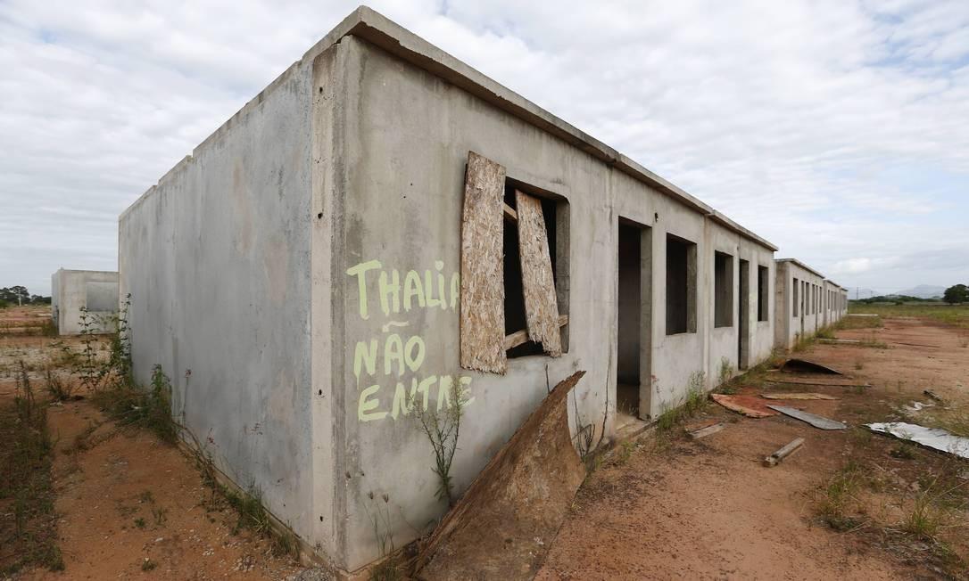 Cada casa do programa Morar Feliz vai custar R$ 115 mil, 33% acima do previsto Foto: Pablo Jacob / Agência O Globo