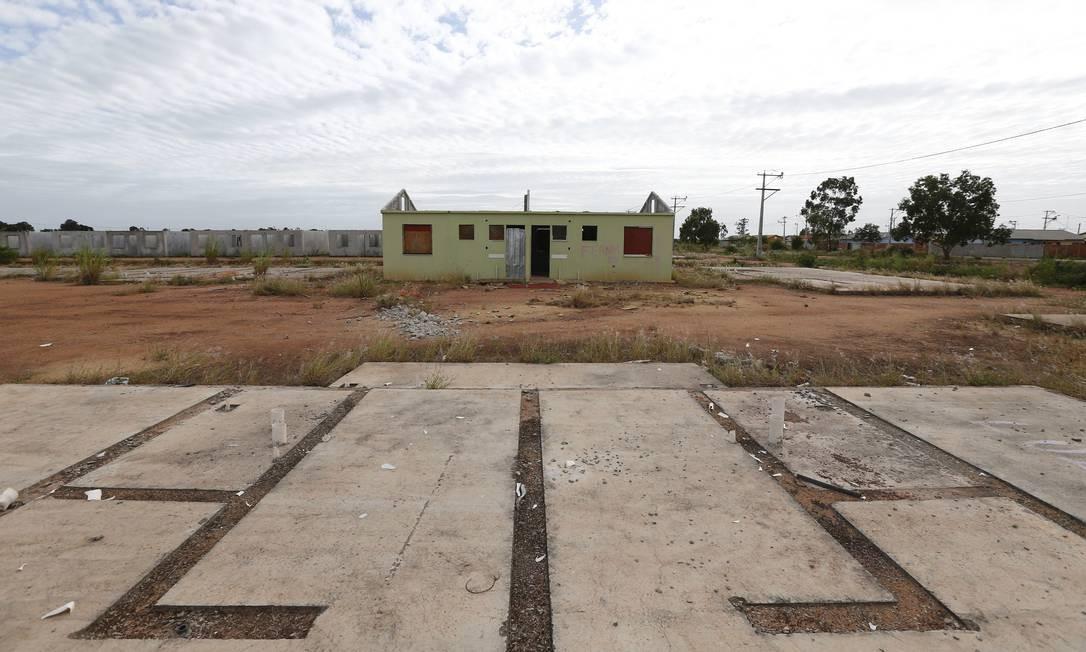 A obra começou em 2009. A última casa foi entregue em 2015 Pablo Jacob / Agência O Globo