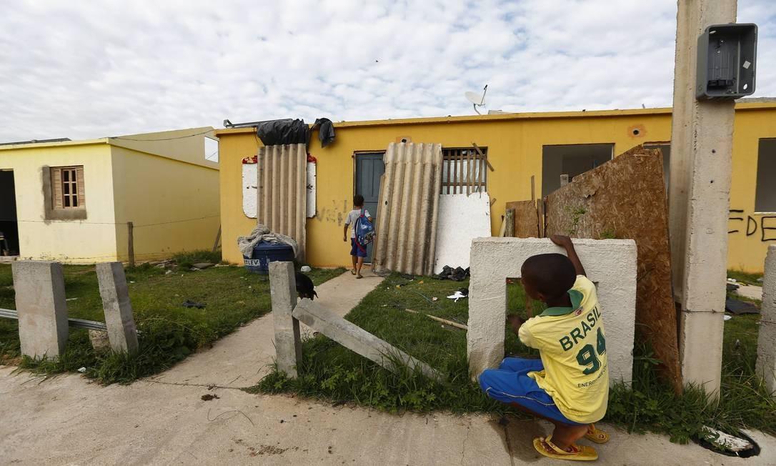 A Odebrecht venceu duas licitações para construir 9.189 casas no programa Morar Feliz, cujo valor atualizado é de R$ 1,05 bilhão Foto: Pablo Jacob / Agência O Globo