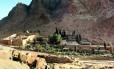 O Mosteiro de Santa Catarina, no Sinai