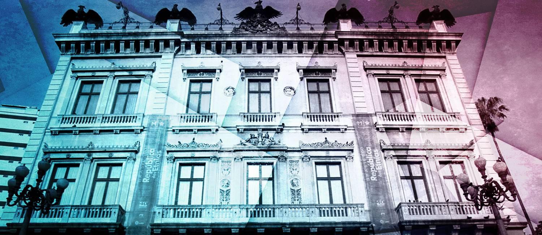 Museu da República Foto: Editoria de Arte