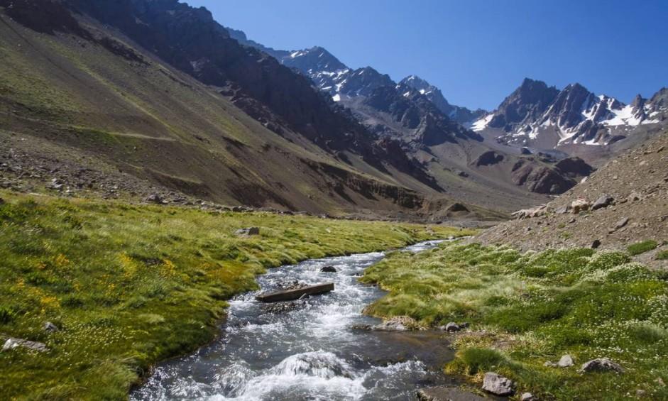 A viagem começou em Pelotas no Rio Grande do Sul e cruzou a Cordilheira dos Andes para entrar no Chile Foto: Daniel Marenco / Agência O Globo