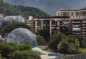 Terreno do Planetário da Gávea pode ser vendido para pagar dívida trabalhista Foto: Ana Branco / Agência O Globo