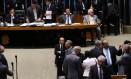 Plenário da Câmara durante discussão e votação sobre as dívidas dos estados Foto: Givaldo Barbosa - 18/04/2017 / Agência O Globo