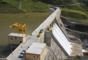 Hidrelétrica de Pinalito, construída pela Odebrecht na República Dominicana Foto: Divulgação 04/09/2009