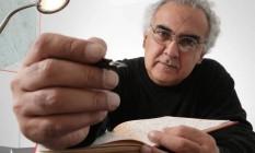"""O escritor Milton Hatoum, autor de """"Dois irmãos"""", """"Órfãos do Eldorado"""", entre outras obras Foto: Marcos Alves/02-05-2010"""