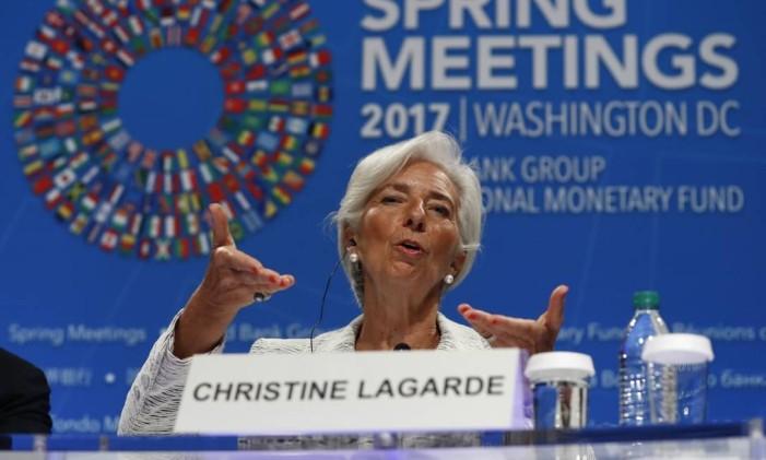 Para Lagarde, as reformas econômicas serão benéficas para o Brasil Foto: Carolyn Kaster / AP