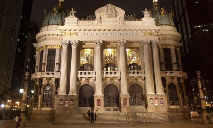 O Teatro Municipal Foto: Rafael Andrade