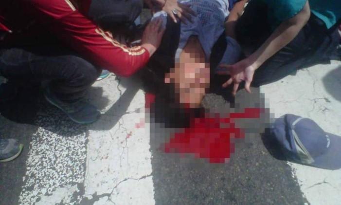 Jovem morreu baleado indo jogar futebol Foto: Reprodução