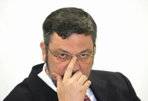 O ex-minitro Antonio Palocci em 2005 Foto: Roberto Stuckert Filho / 22-11-2005