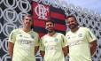 Fred Manhães, Marcio Tannure e Daniel Gonçalves Foto: Gilvan de Souza