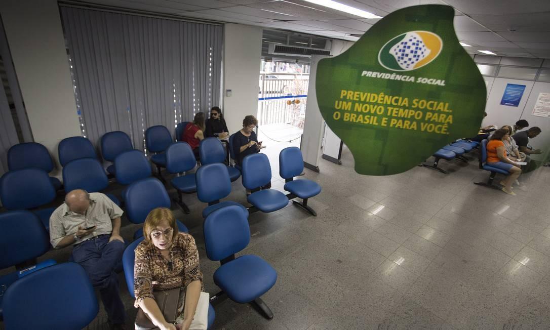 Agência do INSS Foto: Antonio Scorza / Agência O Globo