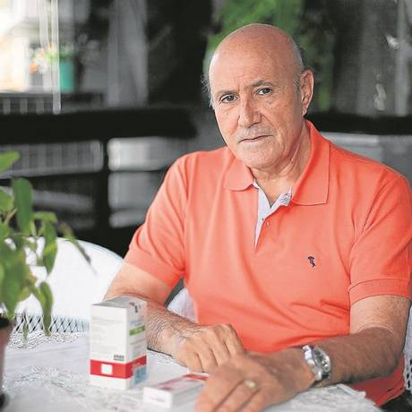 Diagnosticado com linfoma, Ramiro Venâncio emagreceu 15kg em poucas semanas e evitava dormir para não pensar em morte; hoje ele está em processo de cura Foto: Cléber Júnior