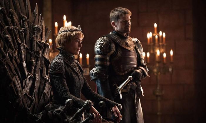 Cersei Lannister (Lena Headey) terminou a sexta temporada ocupando o Trono de Ferro, após explodir sua rival Margaery, o Alto Pardal e boa parte da corte de Porto Real. Agora, além de seu irmão Jaime, não tem muitos outros aliados Foto: HELEN SLOAN / HBO