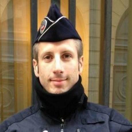 Xavier foi morto a tiros em ataque na Champs-Elysées Foto: Reprodução Twitter