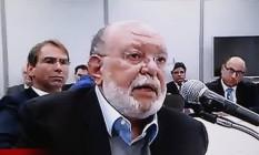 Léo Pinheiro afirmou que cobertura do edifício no Guarujá era de Lula, e que dona Marisa lhe pediu que obras ficassem prontas para festas de fim de ano de 2014 Foto: Reprodução / Agência O Globo