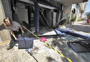 Explosão de agências pode ter ligação com facção criminosa de São Paulo Foto: Thiago Freitas / Agência O Globo