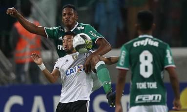 Palmeiras e Ponte Preta se enfrentaram no Allianz Parque pela semifinal do Paulista Foto: Divulgação Palmeiras