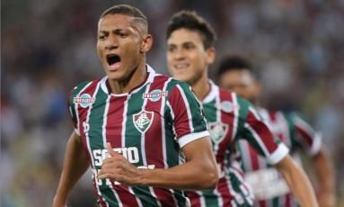 Richarlison marcou na vitória sobre o Vasco Foto: Guilherme Pinto / Agência O Globo