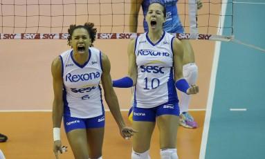 Rio de Janeiro garante o título da Superliga Feminina Foto: Alexandre Loureiro / Inovafoto/CBV