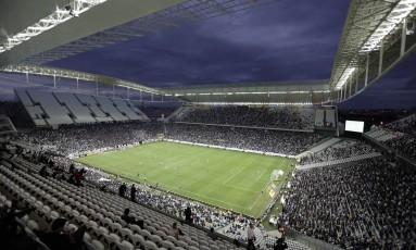 Arena Corinthians: Odebrecht assumiu construção do estádio em Itaquera para agradar governo federal Foto: Andre Penner / AP