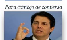 O deputado Arthur Maia (PPS-BA) em entrevista coletiva no Palácio do Planalto Foto: REUTERS