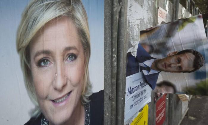 Marine Le Pen recebe apoio de ex-ministra de Sarkozy