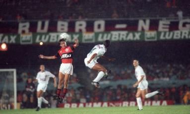 Flamengo e Fluminense fizeram a final do Carioca de 1991 Foto: Cezar Loureiro/Agência O Globo