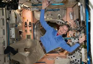 Peggy Withson na Estação Espacial Foto: reprodução internet