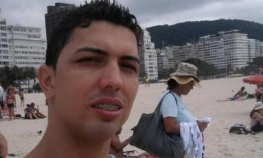 George Felipe da Silva Pereira levou seis tiros quando voltava para casa, em Duque de Caxias Foto: Reprodução