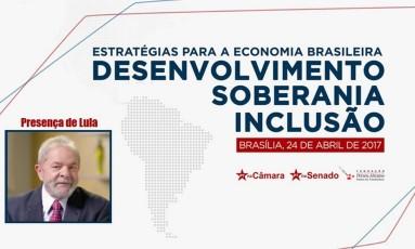 Seminário sobre economia organizado pelo Partido dos Trabalhadores (PT) Foto: Reprodução