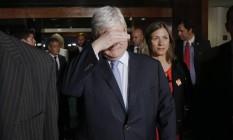Pedido de vista: Resolução só não foi aprovada, porque Janot pediu vista do caso Foto: Ailton de Freitas / O Globo