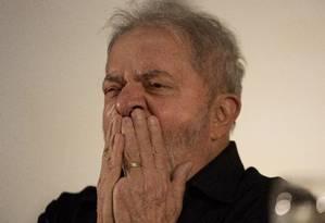"""Em entrevista, Lula prometeu dizer """"tudo o que pensa"""" em seu depoimento ao juiz Sérgio Moro Foto: Michel Filho / Agência O Globo"""