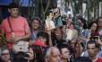 Fãs se despedem de Jerry Adriani Foto: Fabio Guimarães / Agência O Globo
