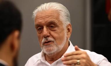 O ex-governador Jaques Wagner, durante seminário realizado pelo PT em Brasília Foto: Jorge William / Agência O Globo