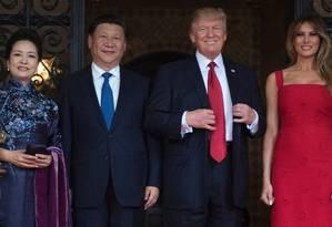Donald e Melania Trump Foto: JIM WATSON / AFP