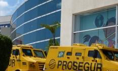 Carros-forte da Prosegur Foto: Divulgação
