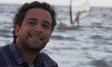 Tagliene Padilha da Cruz foi encontrado morto dentro de seu apartamento, em Porto Alegre Foto: Reprodução Facebook
