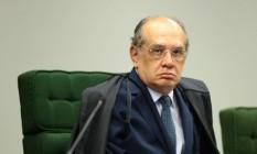 O ministro do STF Gilmar Mendes, presidente do Tribunal Superior Eleitoral (TSE) Foto: Jorge William / Agência O Globo 25/04/2017