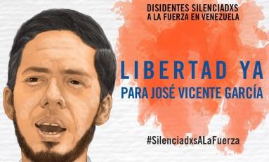 José Vicente García foi preso quando saía de sua casa Foto: Anistia Internacional