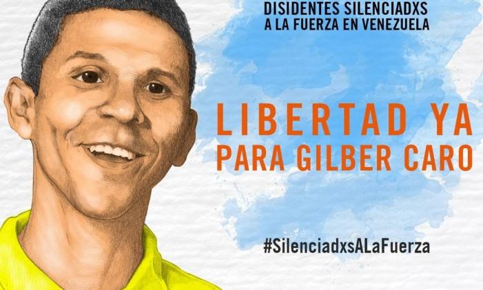 Gilber Caro foi acusado de envolvimento em atividades terroristas Foto: Anistia Internacional