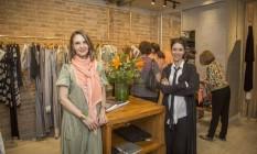 Toia Lemann e Fernanda Elisa estão a frente da marca de roupas Fe-lis Foto: Analice Paron / Agência O Globo