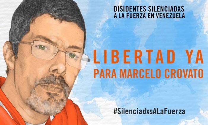 Marcelo Crovato foi detido por supostamente ajudar manifestantes a realizar protestos Foto: Anistia Internacional