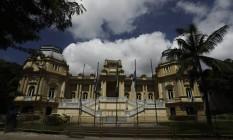 Palácio Guanabara, sede do governo estadual, na rua Pinheiro Machado, em Laranjeiras Foto: Gabriel de Paiva / Agência O Globo/08-02-2017