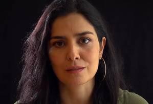 A atriz Leticia Sabatella Foto: Reprodução
