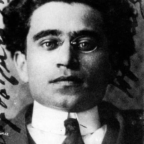 O pensador e líder comunista italiano Antonio Gramsci Foto: Reprodução