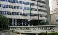 Sede do Tribunal Regional do Trabalho da 3ª Região, em Minas Gerais Foto: Divulgação