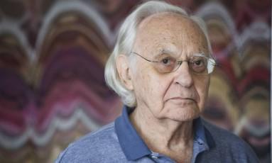 Abraham Palatnik: premiado pela trajetória artística Foto: Guito Moreto / Agência O Globo