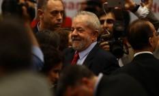 O ex-presidente Luiz Inácio Lula da Silva Foto: Jorge William / Agência O Globo 24/04/2017