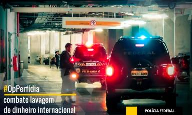 Operação Perfídia da Polícia Federal combate lavagem de dinheiro internacional Foto: Divulgação